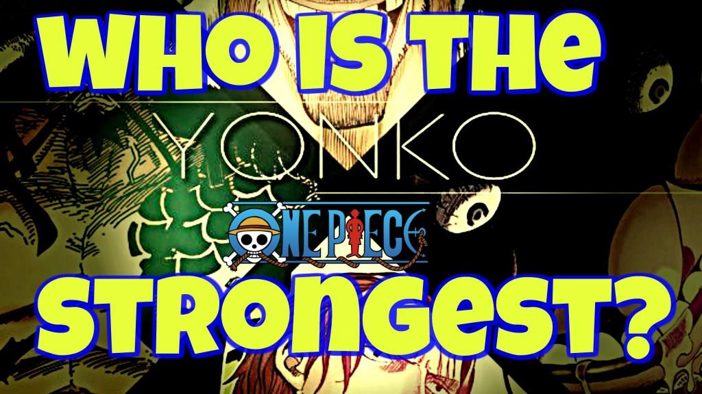 One Piece Yonkou