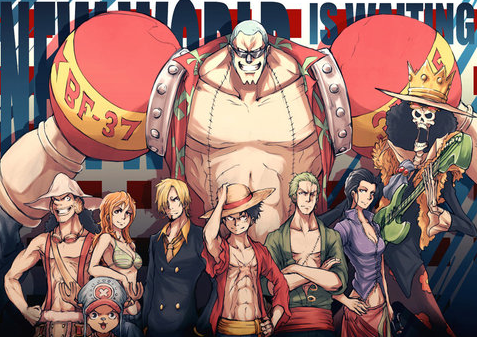 straw hats one piece