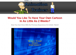 animation trainer homepage