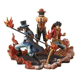 luffy ace sabo figure