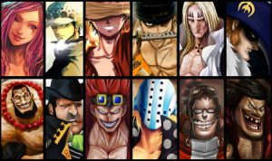 one piece worst generation