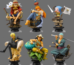 one piece chess pieces
