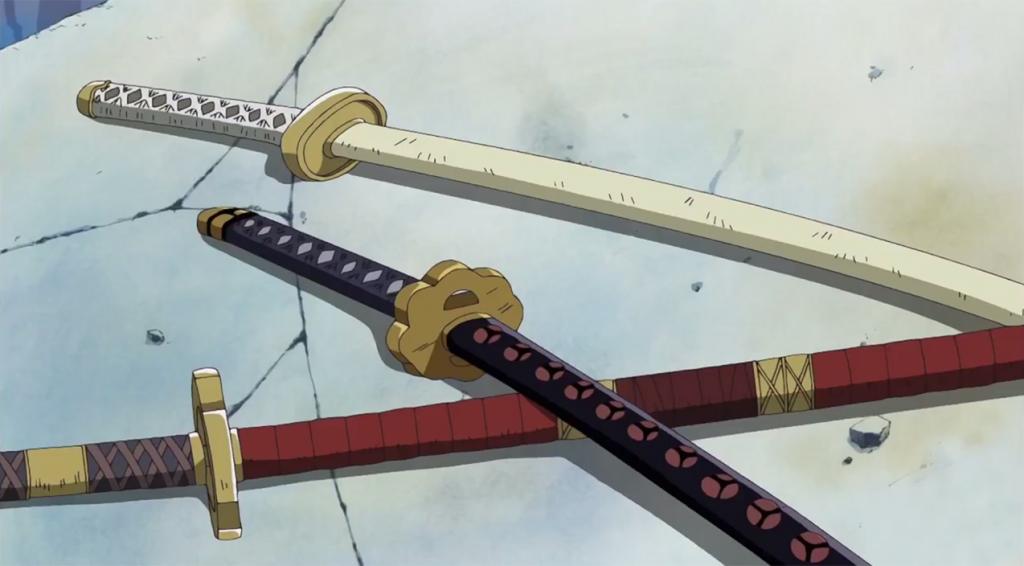 one piece cosplay swords