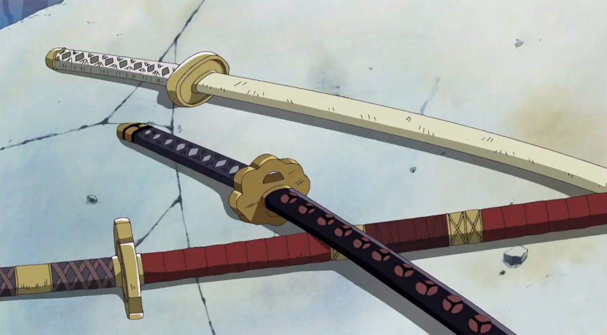 one piece cosplay swords