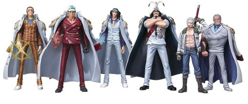 one piece marine figures