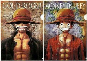 gol d roger is luffy
