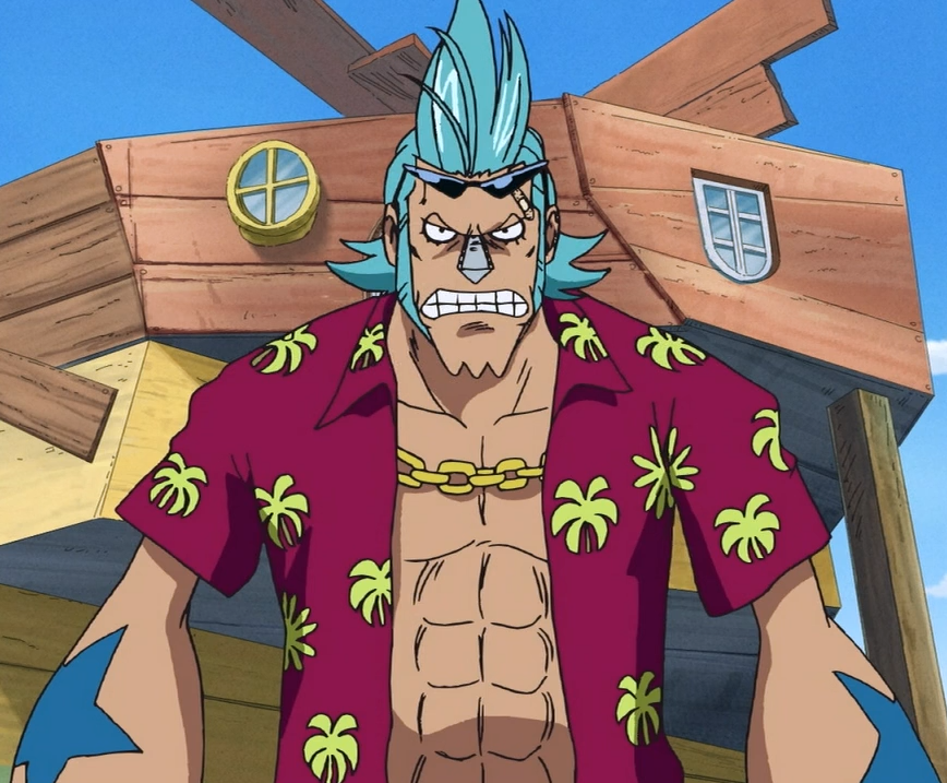 one piece cyborg franky