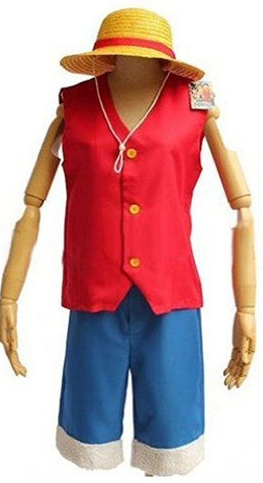 one piece straw hat luffy cosplay