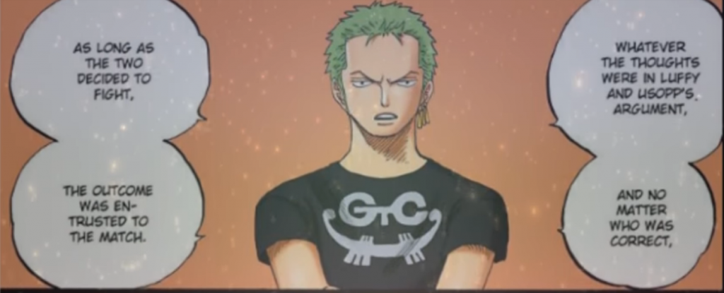 zoro speech water 7