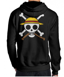 Straw Hats Jolly Roger Hoodie