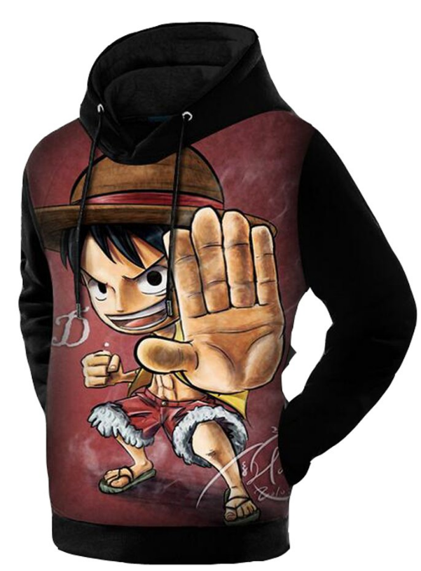 little luffy hoodie