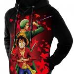 luffy-zoro hoodie