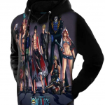straw hats hoodie