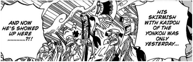 Shanks Arriving Quickly At Marineford
