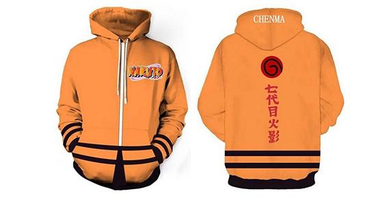 naruto kanjis hoodie