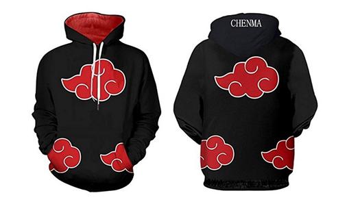naruto akatsuki hoodie