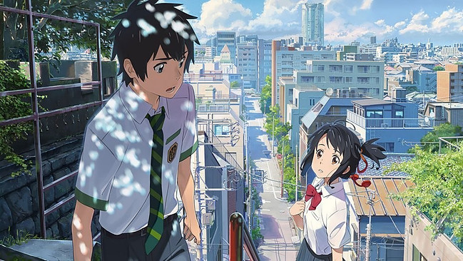 Kimi No Na Wa – Anime Movie Review