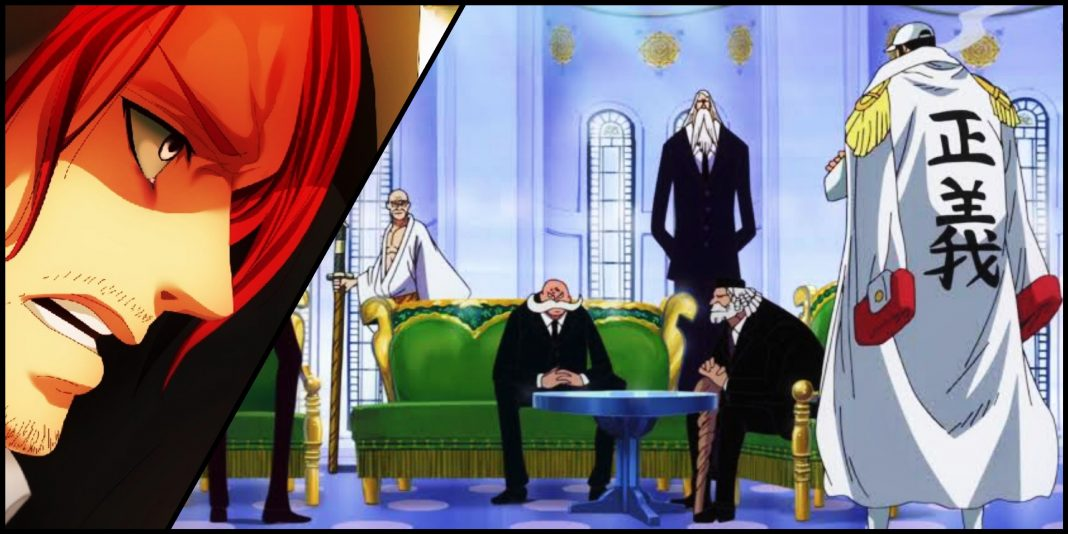 Shank and the World Government in One Piece
