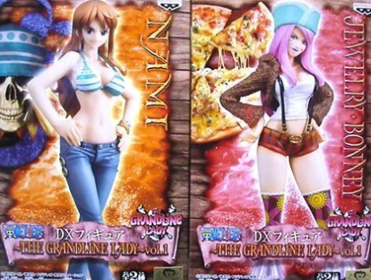 jewelry bonney and nami figure package