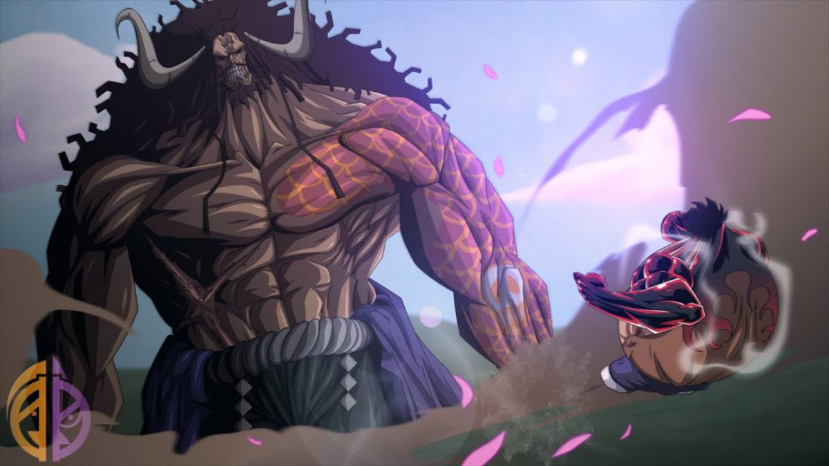 one piece manga chapter 923 - luffy vs kaido
